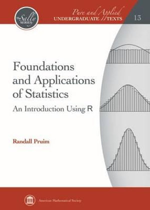 Cover of Foundations and Applications of Statistics
