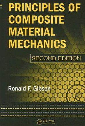 Cover of Principles of Composite Material Mechanics, Second Edition