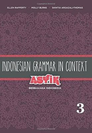 Cover of Indonesian Grammar in Context
