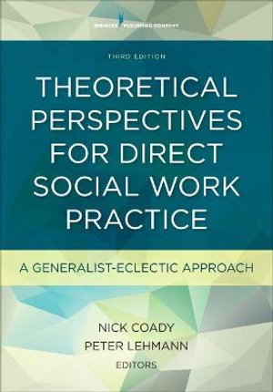Cover of Theoretical Perspectives for Direct Social Work Practice, Third Edition