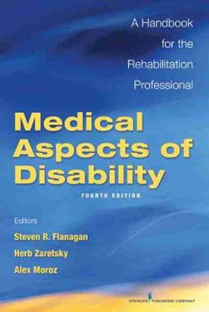 Cover of Medical Aspects of Disability, Fourth Edition
