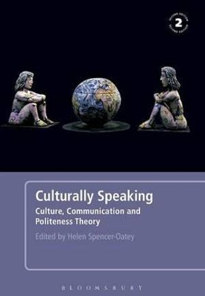 Cover of Culturally speaking