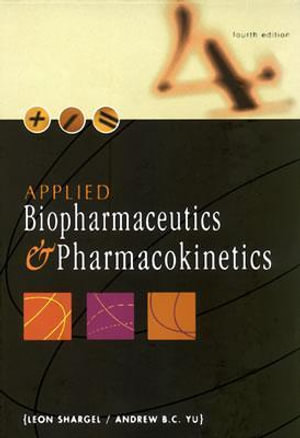 Cover of Applied Biopharmaceutics and Pharmacokinetics