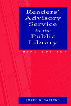 Cover of Readers' Advisory Service in the Public Library
