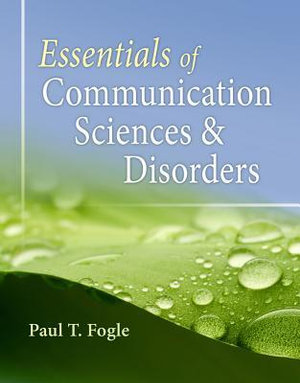 Cover of Essentials of Communication Sciences and Disorders
