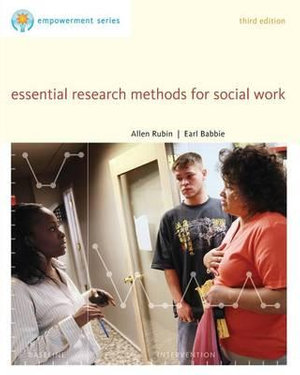 Cover of Brooks/Cole Empowerment Series: Essential Research Methods for Social Work