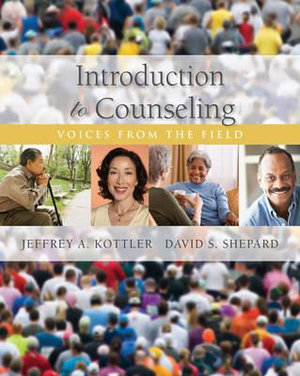Cover of Introduction to Counseling : Voices from the Field