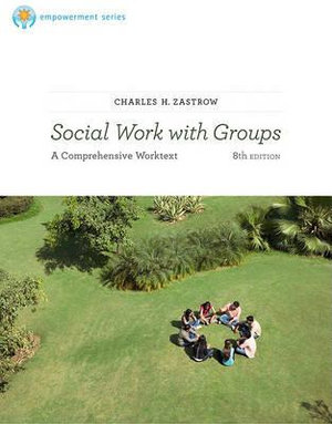 Cover of Brooks/Cole Empowerment Series: Social Work with Groups: A Comprehensive Workbook
