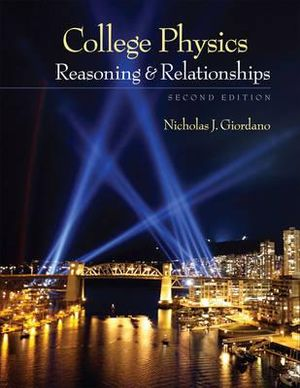 Cover of College Physics: Reasoning and Relationships