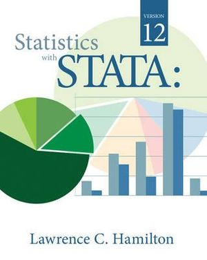 Cover of Statistics with STATA: Version 12