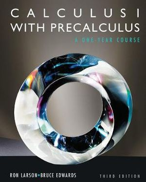 Cover of Calculus I with Precalculus