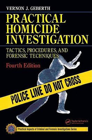 Cover of Practical Homicide Investigation
