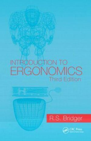 Cover of Introduction to Ergonomics, Third Edition