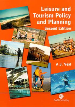 Cover of Leisure and tourism policy and planning [electronic resource]