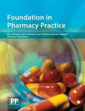 Cover of Foundation in Pharmacy Practice