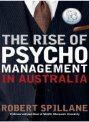Cover of The Rise of Psychomanagement in Australia