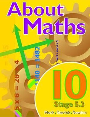 Cover of About Maths 10