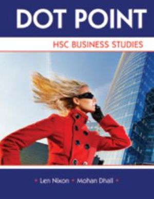 Cover of Dot Point Business Studies HSC