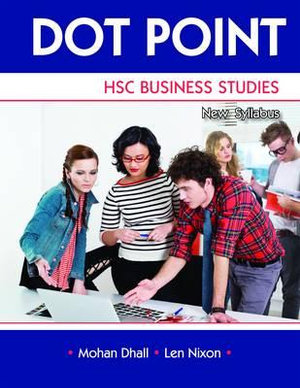 Cover of Dot Point Business Studies HSC Revised