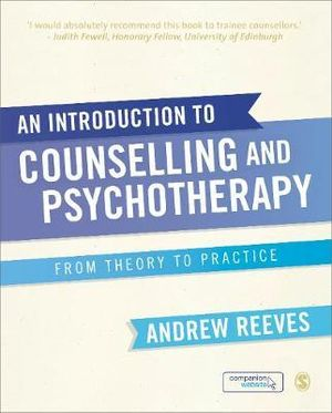 Cover of An Introduction to Counselling and Psychotherapy
