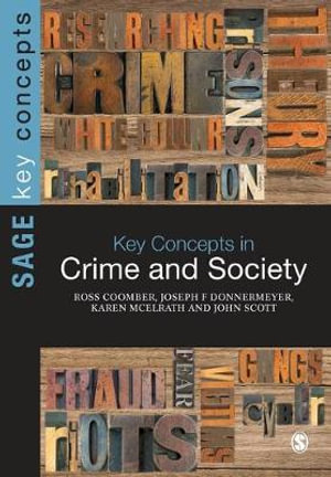 Cover of Key Concepts in Crime and Society