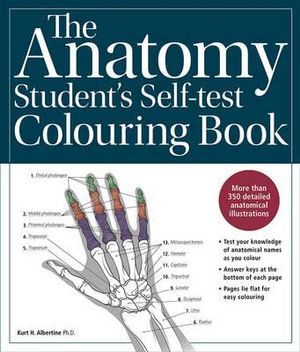 Cover of The Anatomy Student's Self-Test Colouring Book