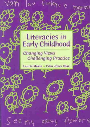 Cover of Literacies in early childhood