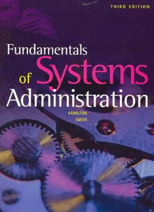 Cover of Fundamentals of Systems Administration