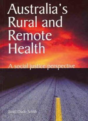 Cover of Australia's Rural and Remote Health