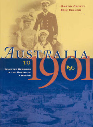 Cover of Australia to 1901