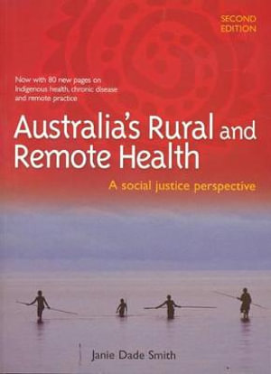 Cover of Australia's Rural and Remote Health: A Social Justice Perspective