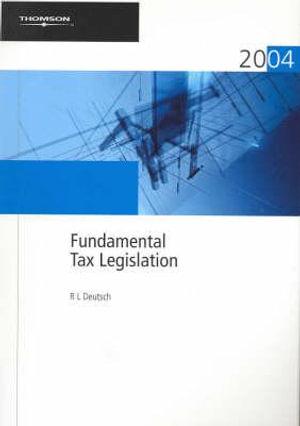 Cover of Fundamental Tax Legislation 2004
