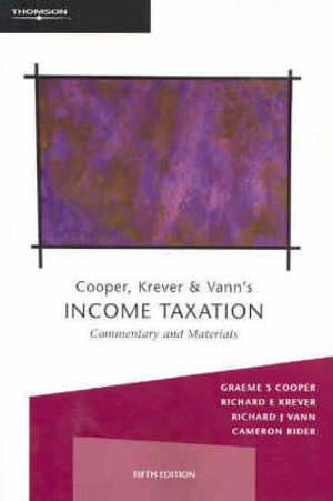 Cover of Income Taxation