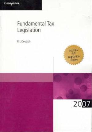 Cover of Fundamental Tax Legislation 2007