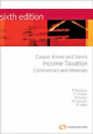 Cover of Cooper, Krever & Vann's Income Taxation