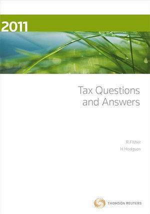 Cover of Tax Questions and Answers 2011