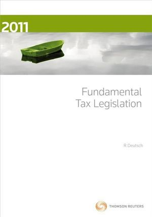 Cover of Fundamental Tax Legislation 2011