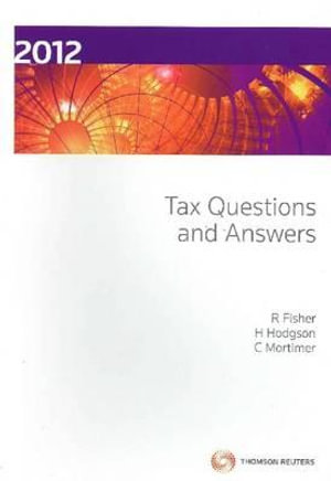Cover of Tax Questions and Answers 2012