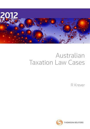 Cover of Australian Taxation Law Cases 2012