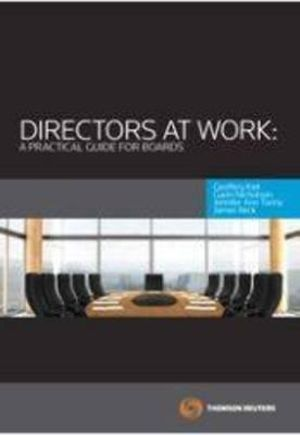 Cover of Directors at Work