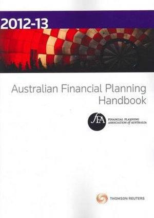 Cover of Australian Financial Planning Handbook 2012-13