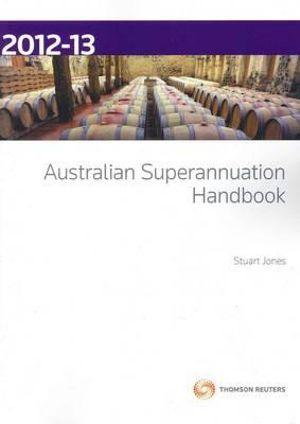 Cover of Australian Superannuation Handbook, 2012-13