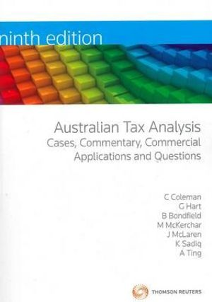 Cover of Australian Tax Analysis