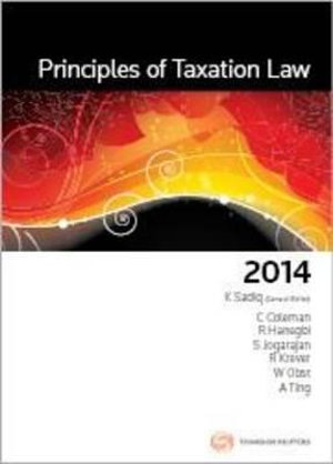 Cover of Principles of Taxation Law 2014