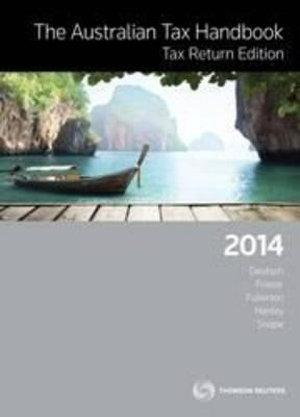 Cover of The Australian Tax Handbook Tax Return Edition 2014