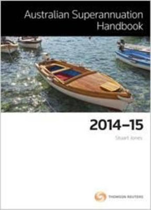 Cover of Australian Superannuation Handbook 2014-15