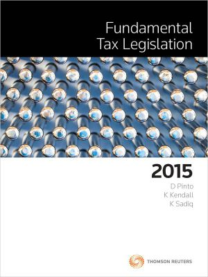 Cover of Fundamental Tax Legislation 2015
