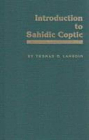 Cover of Introduction to Sahidic Coptic