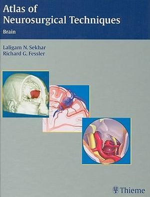 Cover of Atlas of Neurosurgical Techniques
