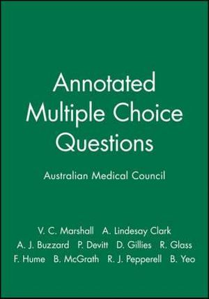 Cover of Annotated Multiple Choice Questions